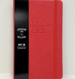 Carolina Sewn Red TKA Leather Journal