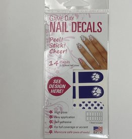 Eyeblack Paw Print Nail Decals