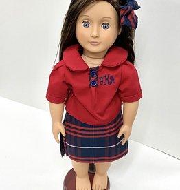 Ee Dee Trim American Girl Doll Uniform
