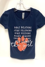 LAT Girls Bible Believing Tee
