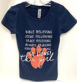 LAT Girls Bible Believing Tee