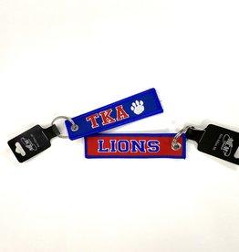 MCM Brands TKA Lions Woven Keychain