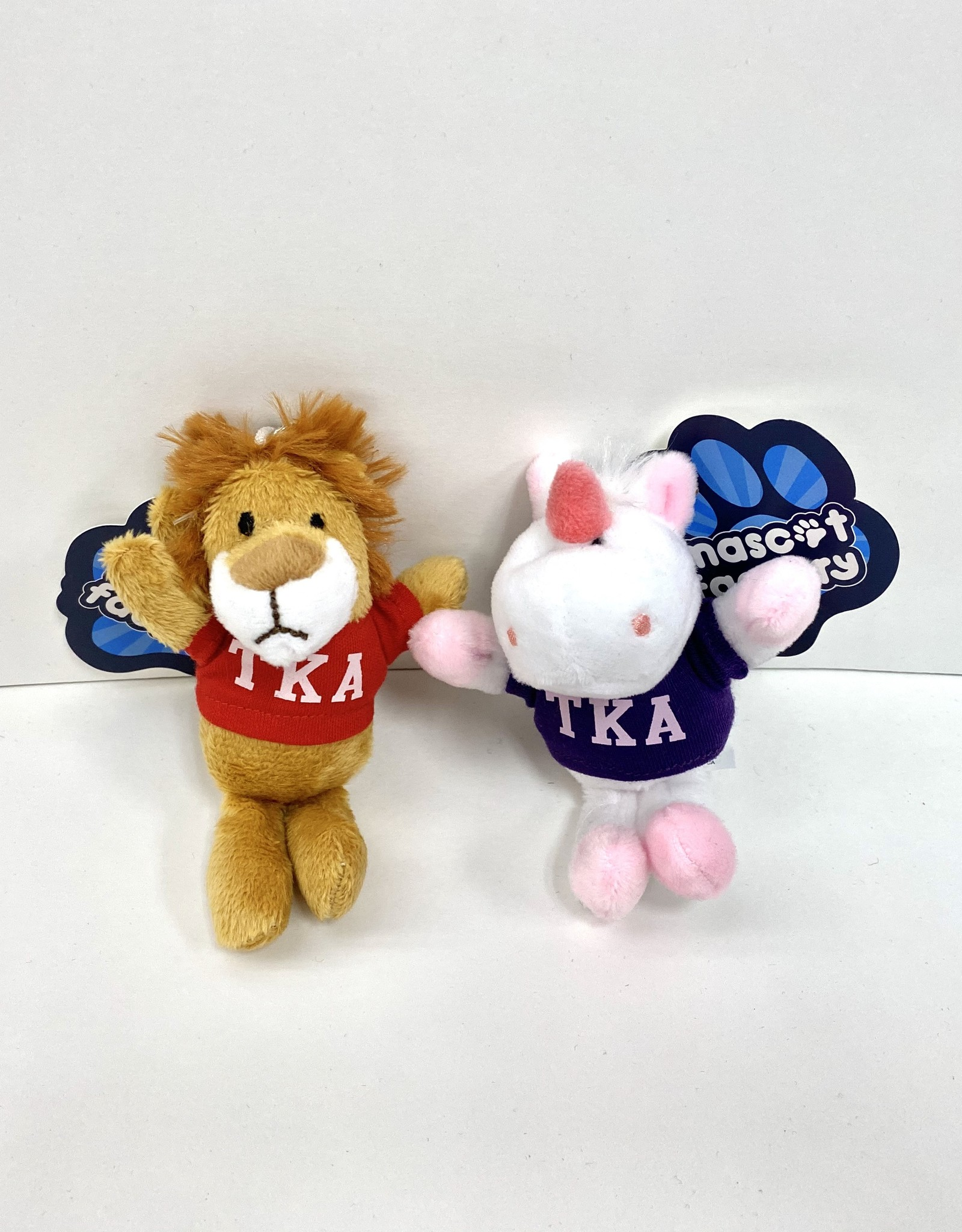 Mascot Factory Plush Keychain