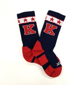 TCK TCK Socks: Navy w/ Stars