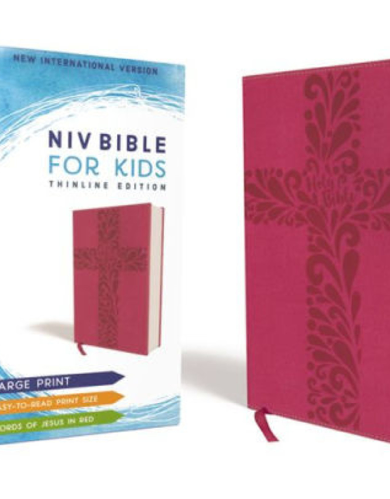 HarperCollins Christian Publishing NIV Bible for Girls - Pink w/ Cross