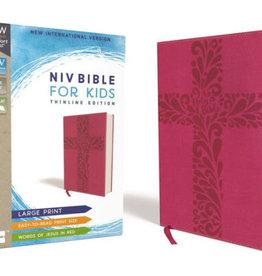 HarperCollins Christian Publishing NIV Bible for Girls - Pink w/ Cross