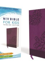 NIV Bible - Purple Floral