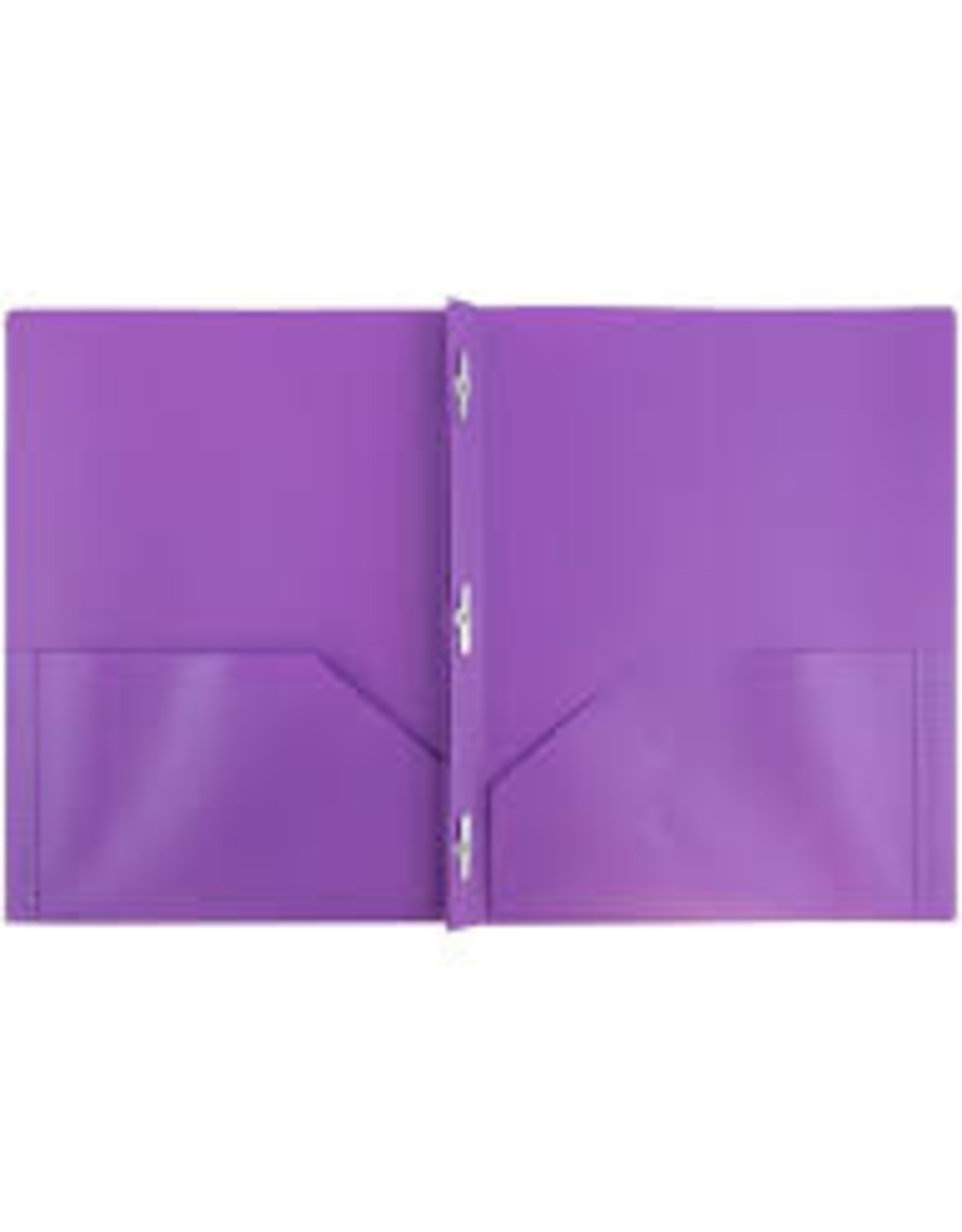 Office Depot Plastic Folder with Prongs