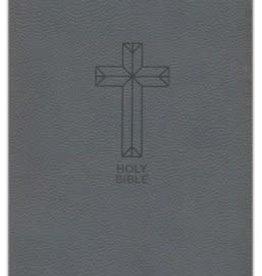 HarperCollins Christian Publishing NKJV Thinline Bible - Charcoal Grey