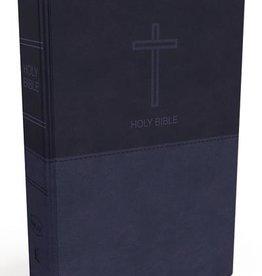 NKJV Thinline Bible - Navy Blue