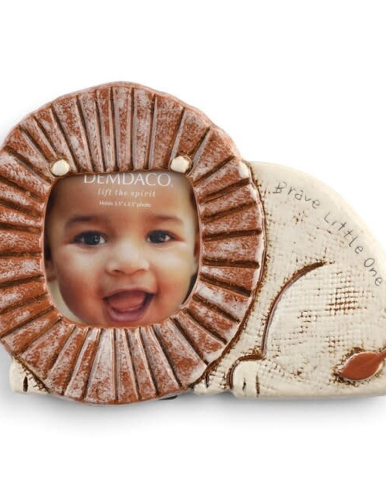 Demdaco Demdaco Ceramic Lion Frame