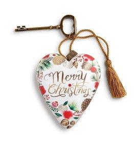 Demdaco Christmas Art Heart