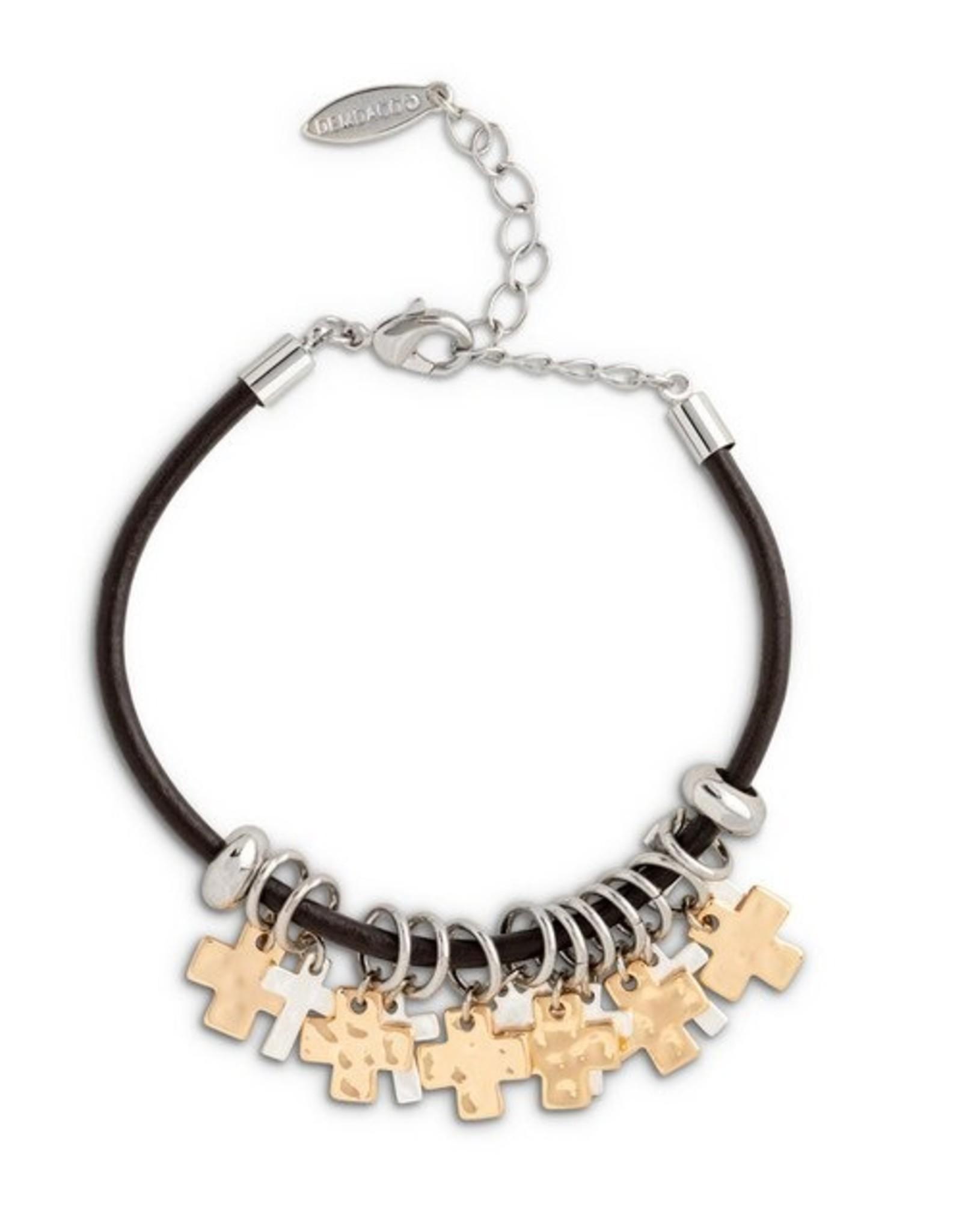 Demdaco Cross Giving Bracelet