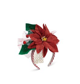Demdaco Poinsettia Headband