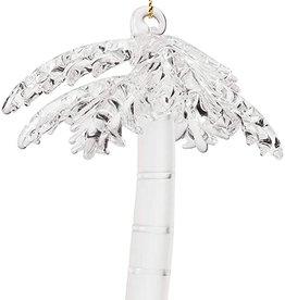 Demdaco Palm Tree Glass Ornament