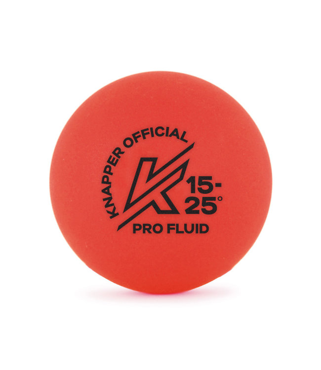 Knapper Orange Pro-Fluid Ball