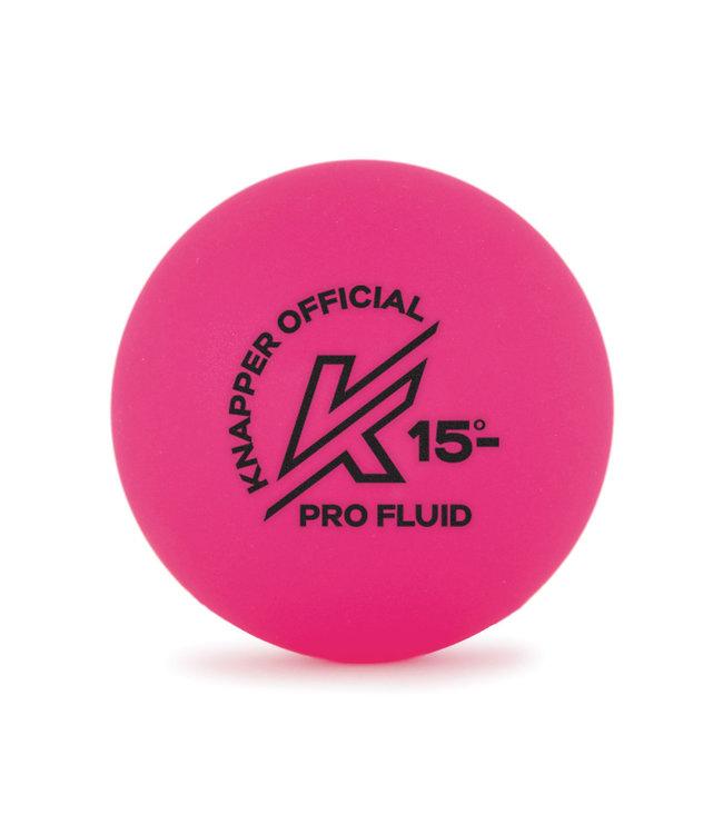 Knapper Pink Pro-Fluid Rose