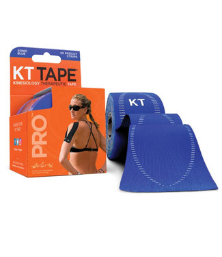 """KT Tape Ruban PRO 20 Bandes 10"""" Pré-Coupées"""