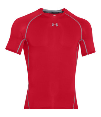 Under Armour Chandail Compression Manches Courtes Armour Heatgear