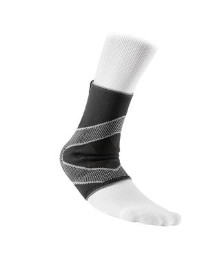 McDavid Level 2 Ankle Slv 4 Way Elastic w/Gel Buttresses