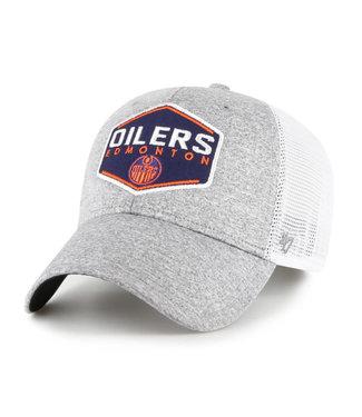 47 Brand Casquette NHL Hitch Contender des Oilers d'Edmonton