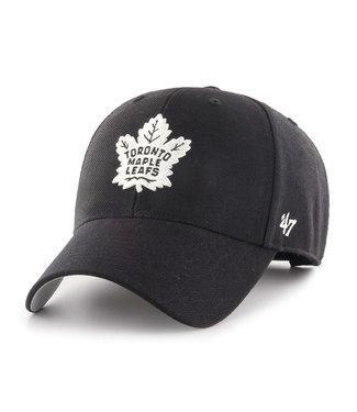 47 Brand Casquette NHL Basic 47 MVP des Maple Leafs de Toronto Noir/Blanc