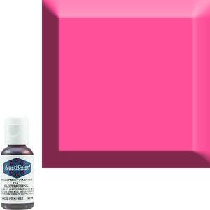 AmericaColor . AME AmeriColor .75oz Soft Gel – Electric Pink