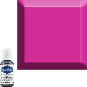 AmericaColor . AME AmeriColor .75oz Soft Gel – Electric Purple
