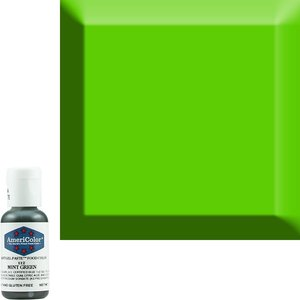 AmericaColor . AME AmeriColor .75oz Soft Gel – Mint Green