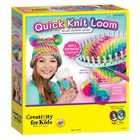 Creativity for kids . CFK Quick Knit Loom Kids Crafts Calgary