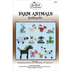 Quilled Creations . QUI Farm Animals Quilling Kit