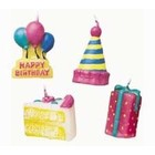 Wilton Products . WIL (DISC) - Party Time  - Candle Set 4pc