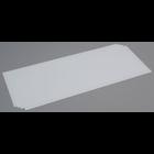 "Evergreen Scale Models . EVG White Sheet .030"""" Long"