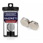 Magcraft Magnets . MFM 1''X1/8''' Rare Earth Disc Magnet