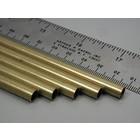 "K&S Engineering . K+S Round Brass Tube 1/4 X 36"""