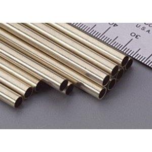 "K&S Engineering . K+S Round Brass Tube 3/16 X 12"""