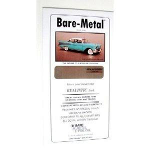 Bare Metal Foil . BMF 6X11 Thin Sheet Chrome Foil