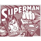 Desperate Enterprises . DPE Superman Duotone