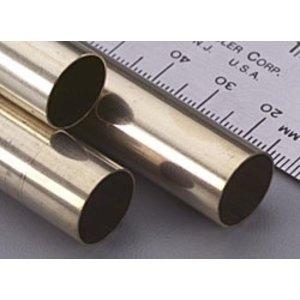 K&S Engineering . K+S Round Brass Tube 17/32