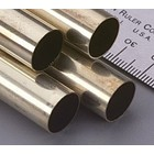K&S Engineering . KSE Round Brass Tube 1/2 X 12''