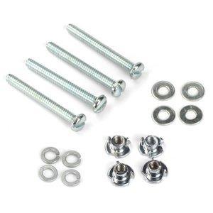 Du Bro Products . DUB MTG Bolts & Nuts 6-32 X 1 1/4