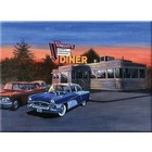 Royal (art supplies) . ROY 50'S Diner Paint By Number Vintage Calgary