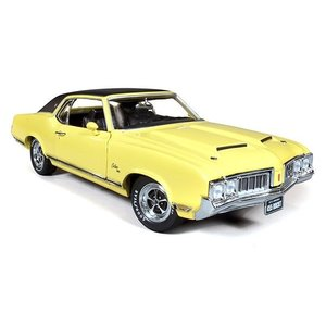 American Muscle Diecast . AMD 1/18 OLDS CUTLASS SX '70 LTD