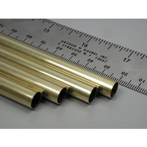 K&S Engineering . KSE Round Brass Tube 11/32