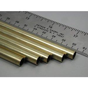 "K&S Engineering . K+S Round Brass Tube 9/32 X 36"""