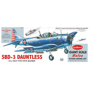 Guillows (Paul K) Inc . GUI DOUGLAS SBD3 DAUNTLESS