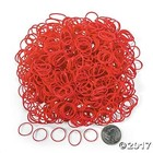 Pepperell . PEP SILICONE LOOPS RED