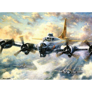 Royal (art supplies) . ROY Flying Fortress - Paint by Number