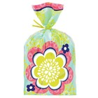 Wilton Products . WIL Party Bags - Blossoms 20 count