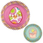Wilton Products . WIL (DISC) - Easter Garden Mini Baking Cups